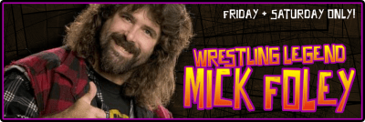 mick foley Astronomicon