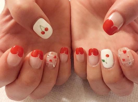 cherry nails 10