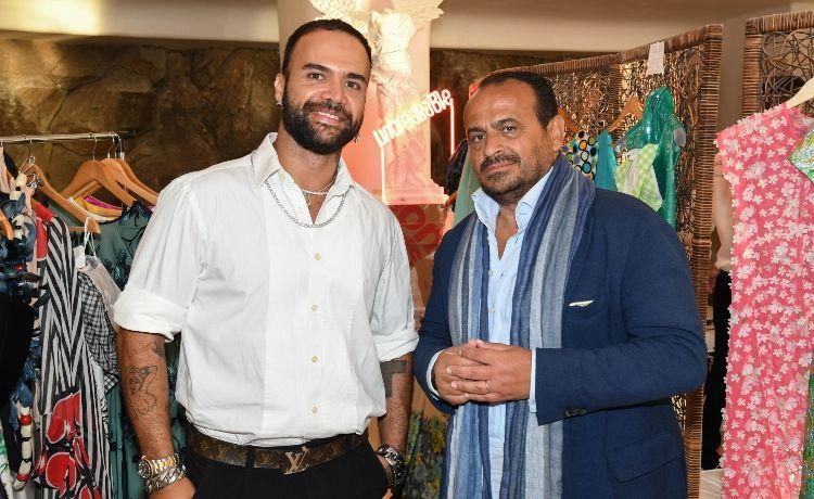 Ο Βασίλης Ζούλιας και ο Περικλής Κονδυλάτος παρουσίασαν τη Resort συλλογή τους στη Μύκονο