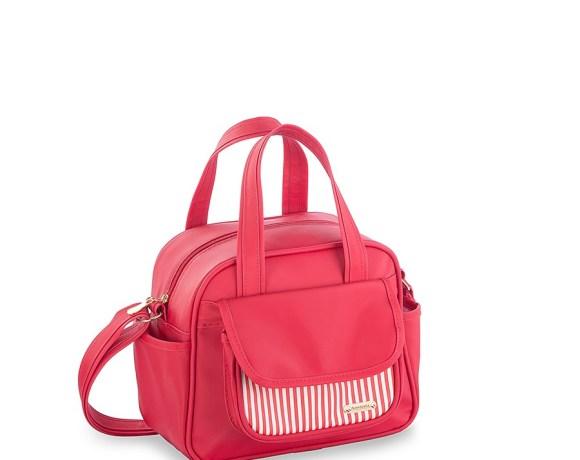 Frasqueira Elegance Vermelha/Listra