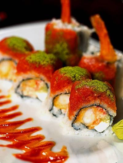 MAIN Gojira Roll Courtesy RA Sushi