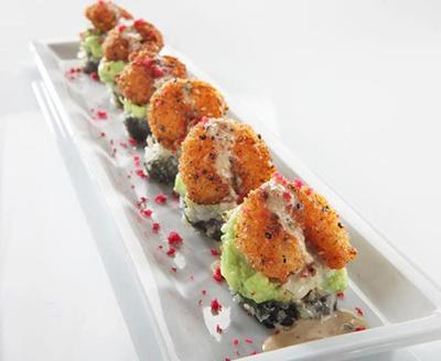 Ra-ckin Shrimp Roll Courtesy RA Sushi