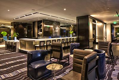 Bar Corner with Furniture