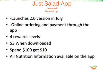 Just Salad App