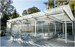 California academy of sciences opened on the terrace on for Cost of nanawall systems