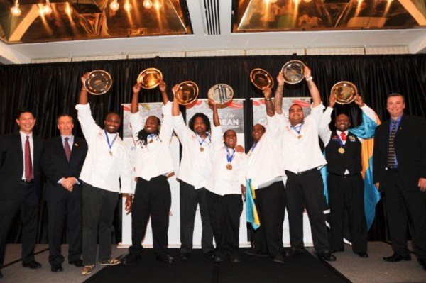 Bahamas celebrates winning the coveted Caribbean National Culinary Team of the Year title