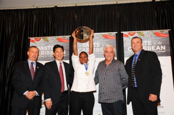Caribbean Junior Chef of the Year Edna Butcher, St. Lucia