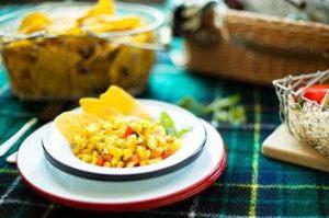 Chardonnay Crunchy Grilled Corn