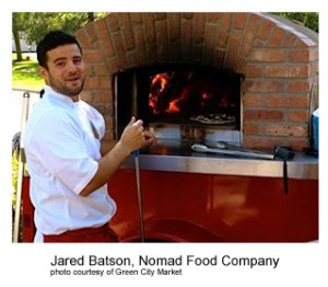 Jared Batson, Nomad Food Company Photo Courtesy of Green City Market