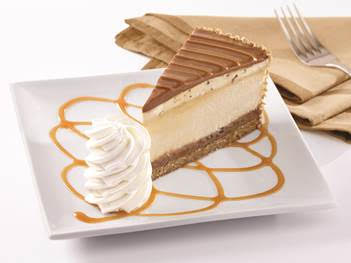 Newest flavor Salted Caramel Cheesecake