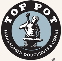 Top Pot Doughnuts and coffee