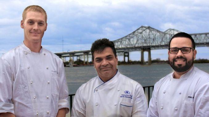 Chef Tyler Simmons, Chef Mark Dayanandan and Chef Angel Resto