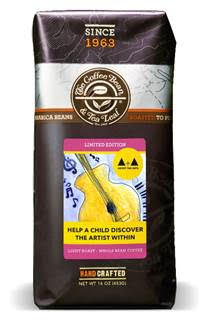 The Coffee Bean & Tea Leaf®'s limited edition Adopt the Arts featuring artwork created by students who have benefitted from the program