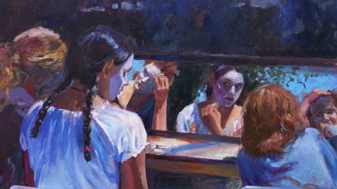 Kathleen Lack painting