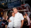 Chef Gordon Ramsay with newly crowned HELL'S KITCHEN season 15 winner, Ariel Malone. Credit Erik Kabik