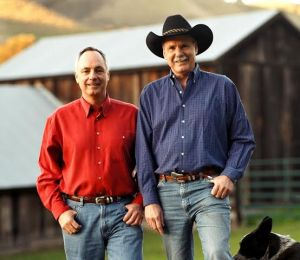 Steve Church, left, and his brother, Tom, have a rich history in produce farming in California's Salinas Valley, where they started in the 1960s.