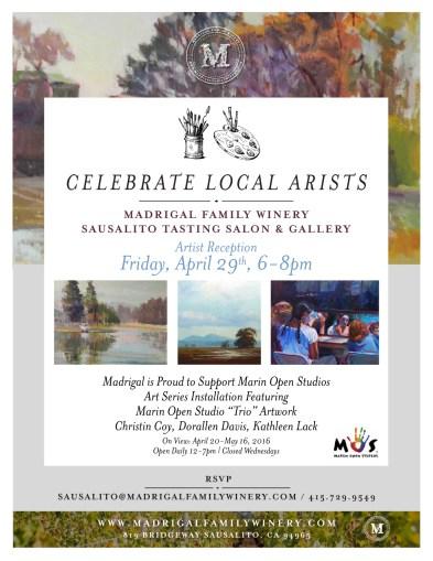 celebrate local artist