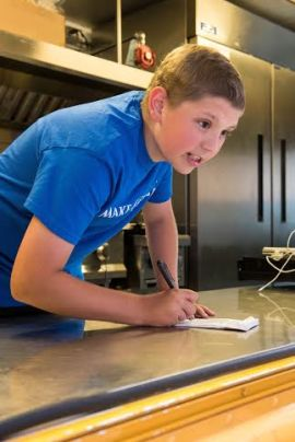13-year old inspiration and aspiring food truck chef Lucas Hobbs
