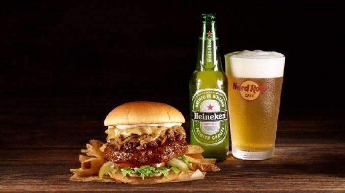 The Heineken® Brisket Burger