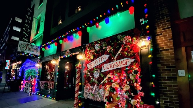 Christmas Time In Philadelphia 2020 AMERICA'S FIRST SOCIALLY DISTANCED CHRISTMAS OPEN AIR EATERY