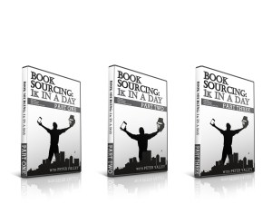 """We're LIVE: The """"Book Sourcing: 1k In A Day"""" DVD set"""