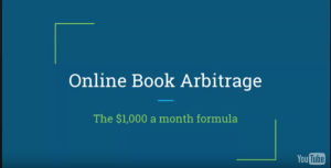 [Video] The $1,000 a month online book arbitrage formula