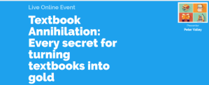 "Live Event: ""Textbook Annihilation"" – Monday & Tuesday"