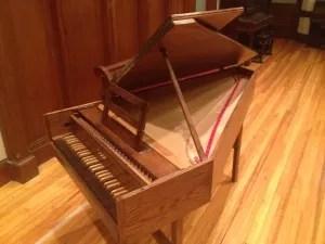 Zuckermann harpsichord