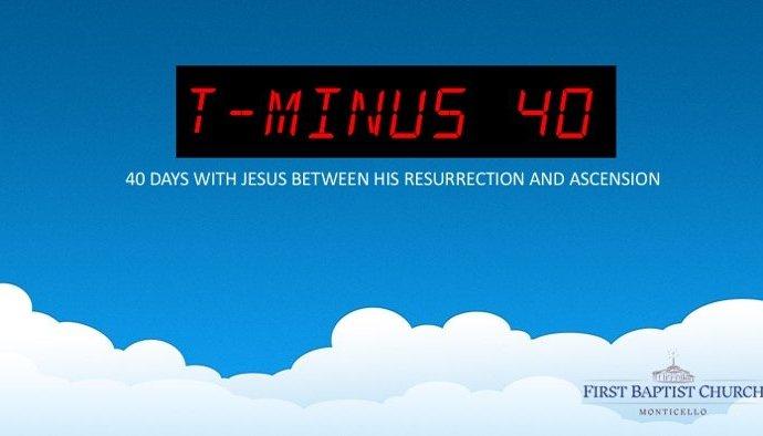 T-Minus 40 Our Mission