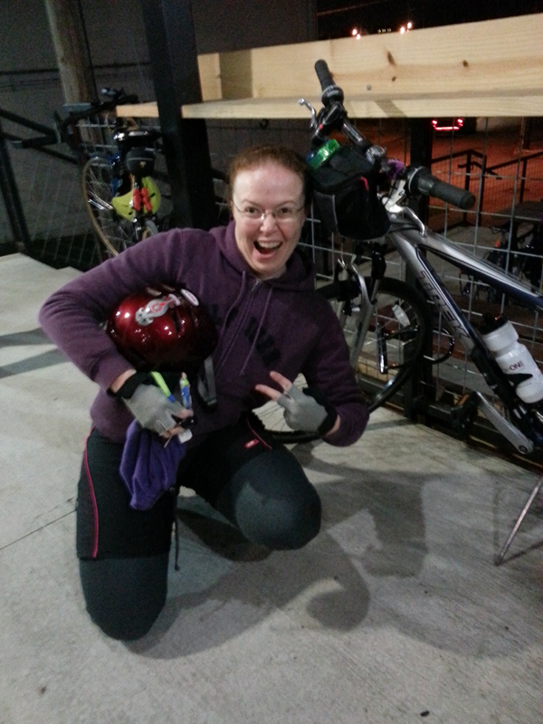 FBC 17 Sarah and her bike!