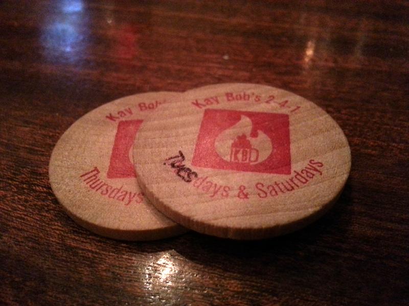 FBC 20 Kay Bob's tokens