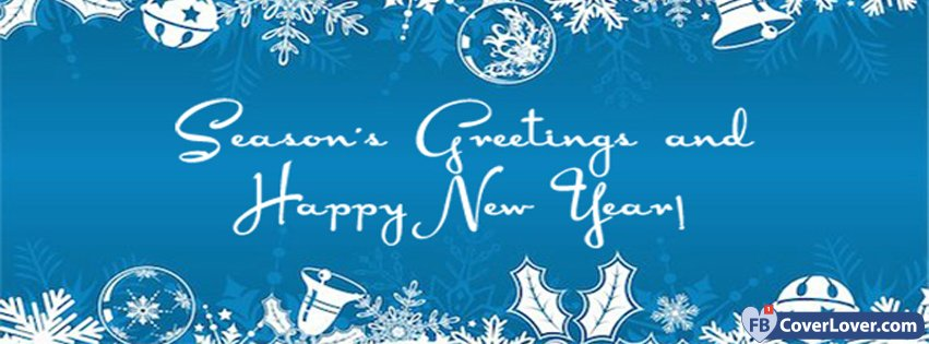 Seasons Greetings And Happy New Year Holidays And
