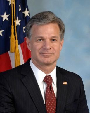Christopher Wray, August 2, 2017 - Present — FBI