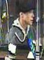 La Mesa, California Bank Robbery Suspect, Photo 2 of 5 (12/15/15)