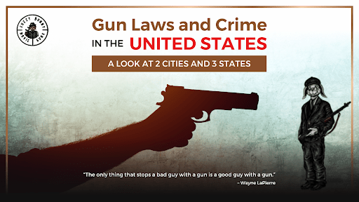Gun Laws and Crime in the United States: A Look at 2 Cities and 3 States