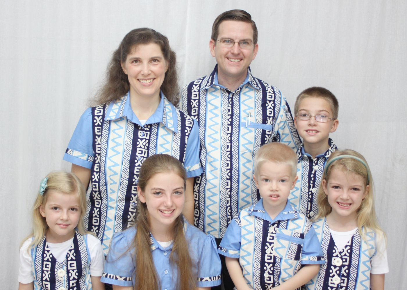 Missionary Ted Speer Family