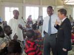 Pastor Speer Learning Sign Language