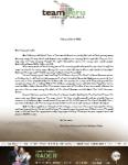 Mark Rader Prayer Letter:  Creation Bible Study Started