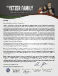 Chris Yetzer Prayer Letter:  Stoica Family Moves