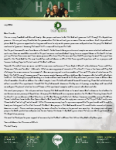 Baraka Hall Prayer Letter:  Building Our Faith