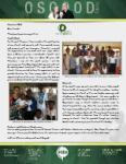 Charles Osgood Prayer Letter:  Working With Youth