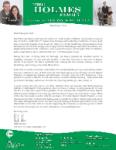 Mark Holmes Prayer Letter:  Furlough