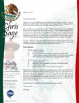 Chris Sage Prayer Letter:  New Church Plant!