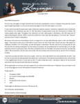 Mshama Kinyonga Prayer Letter:  New Church Plant