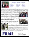 James Belisle Prayer Letter:  Graduates Serving the Lord!