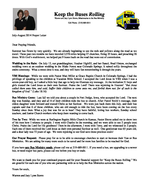 thumbnail of Warren Storm Jul-Aug 2014 Prayer Letter