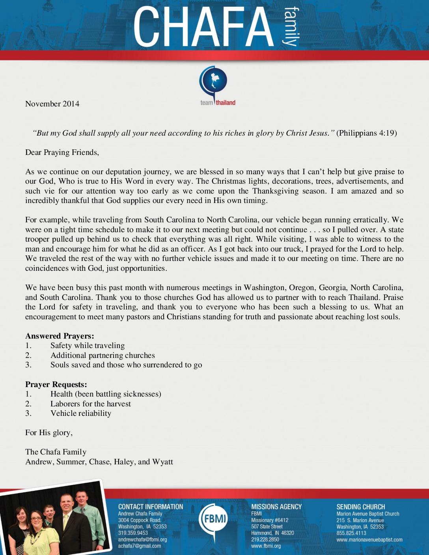 thumbnail of Andra Chafa November 2014 Prayer Letter