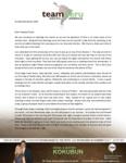 Daniel Kokubun Prayer Letter: Counting Our Blessings