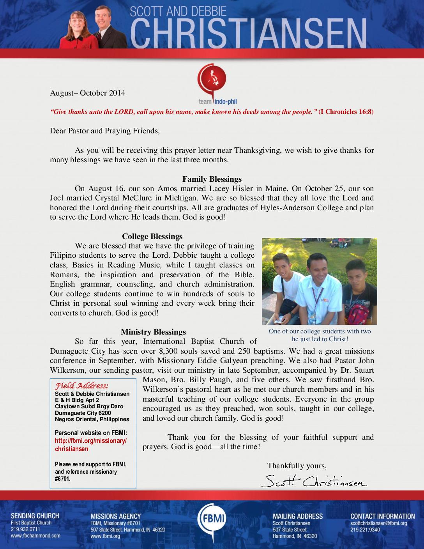 thumbnail of Scott Christiansen Aug-Oct 2014 Prayer Letter
