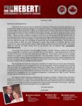Brian Hebert Prayer Letter:  Speaking Broken Spanish